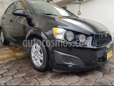 Foto venta Auto usado Chevrolet Sonic 4p LT L4/1.6 Aut (2015) color Negro precio $140,000