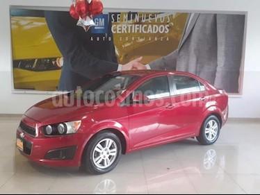 Foto venta Auto usado Chevrolet Sonic 4p LT L4/1.6 Man (2014) color Rojo precio $138,900