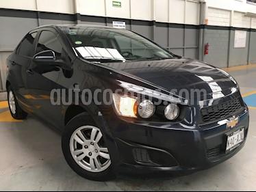 Foto venta Auto Seminuevo Chevrolet Sonic 4p LT L4/1.6 Man (2016) color Negro precio $170,000