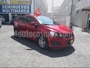 Foto venta Auto usado Chevrolet Sonic 4p LT L4/1.6 Man (2016) color Rojo precio $169,000