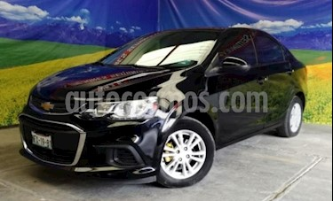 Foto Chevrolet Sonic 4P LT TM5 A/AC. VE BA RA-15 usado (2017) color Negro precio $169,000