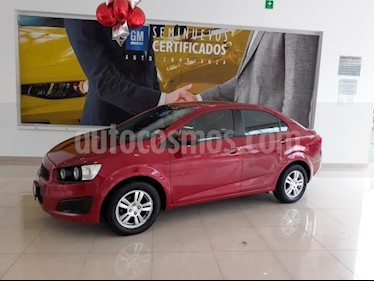 Foto Chevrolet Sonic 4P LT TM5 A/AC. VE BA RA-15 usado (2016) color Rojo precio $173,900