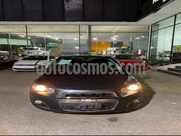 Foto Chevrolet Sonic 4p LTZ L4/1.6 Aut usado (2016) color Gris precio $170,000