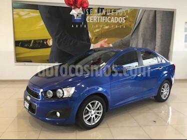 Foto venta Auto usado Chevrolet Sonic 4p LTZ L4/1.6 Aut (2016) color Azul precio $188,900