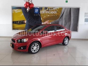 Foto Chevrolet Sonic 4P LTZ TA A/AC. VE ABS BA F. NIEBLA RA-16 usado (2012) color Rojo precio $130,900