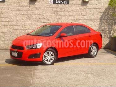Foto venta Auto usado Chevrolet Sonic 5p LT L4/1.6 Man (2016) color Rojo precio $162,000