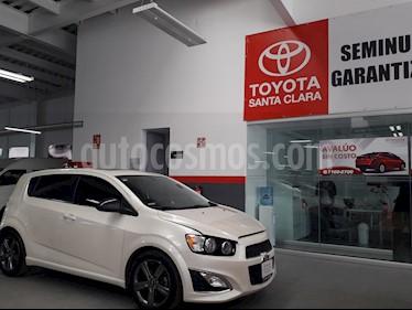 Foto venta Auto usado Chevrolet Sonic 5p RS L4/1.4/T Man (2014) color Blanco precio $182,000