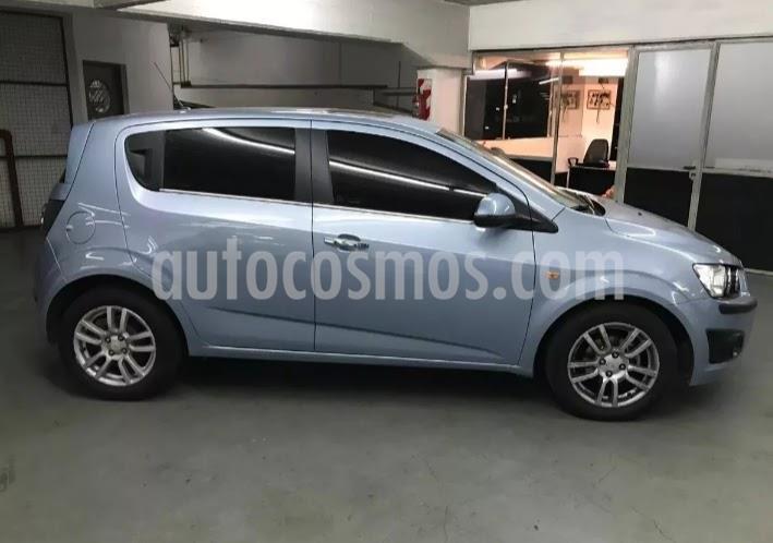Chevrolet Sonic  LTZ Aut usado (2013) color Azul Celeste precio $545.000