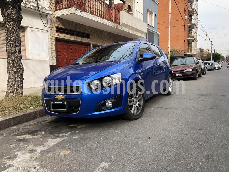 Chevrolet Sonic  LTZ Aut usado (2012) color Azul Celeste precio $660.000