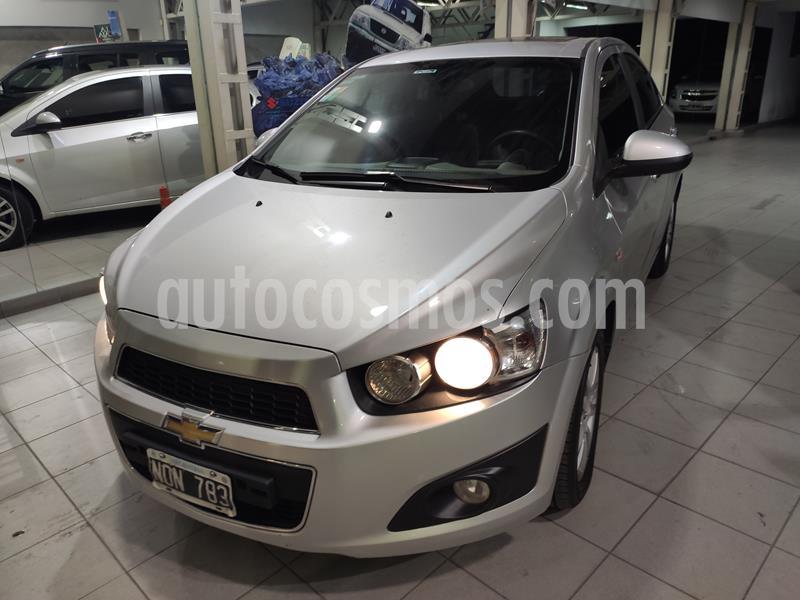 Chevrolet Sonic  LTZ usado (2014) color Plata precio $799.900