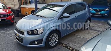 Chevrolet Sonic  LT usado (2013) color Azul Boracay precio $355.000