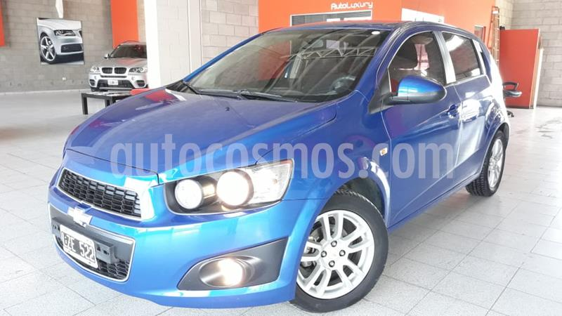 Chevrolet Sonic  LT usado (2013) color Azul precio $530.000