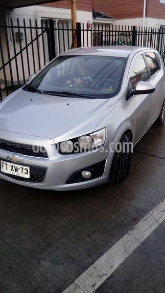 Chevrolet Sonic 1.6 LT  usado (2013) color Plata precio $4.950.000