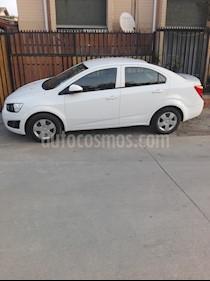 Chevrolet Sonic 1.6  usado (2016) color Blanco precio $5.400.000