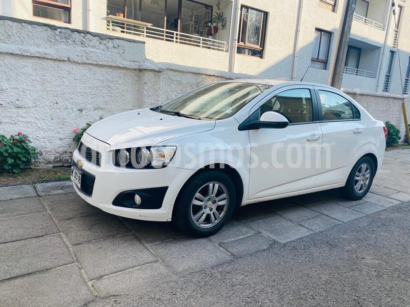 Chevrolet Sonic 1.6 LT Aut  usado (2013) color Blanco precio $5.800.000