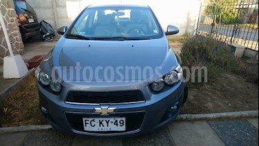 Chevrolet Sonic 1.6 LT  usado (2012) color Gris Urbano precio $3.990.000