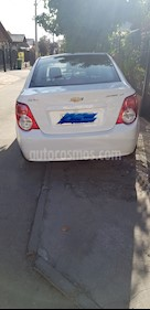 Chevrolet Sonic 1.6 LT Aut  usado (2015) color Blanco precio $5.500.000