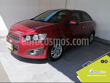 Chevrolet Sonic 1.6 LT usado (2013) color Rojo precio $21.990.000