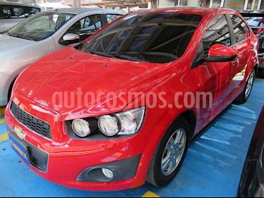 Chevrolet Sonic 1.6 LT  usado (2016) color Rojo precio $36.900.000