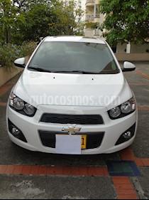 Chevrolet Sonic 1.6 LT usado (2015) color Blanco precio $30.900.000