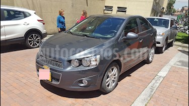 foto Chevrolet Sonic 1.6 LT Aut usado (2013) color Gris Urbano precio $27.500.000