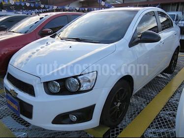 Chevrolet Sonic 1.6 LT  usado (2017) color Blanco precio $39.900.000