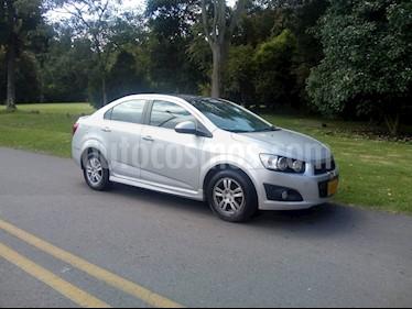 Chevrolet Sonic 1.6 LT usado (2015) color Plata Brillante precio $34.900.000