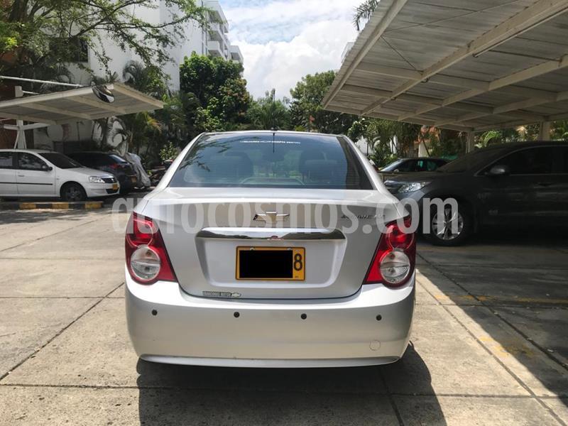 Chevrolet Sonic 1.6 LT usado (2015) color Plata Brillante precio $32.900.000