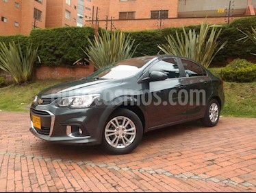 Chevrolet Sonic 1.6 LT  usado (2018) color Gris Mercurio precio $41.900.000