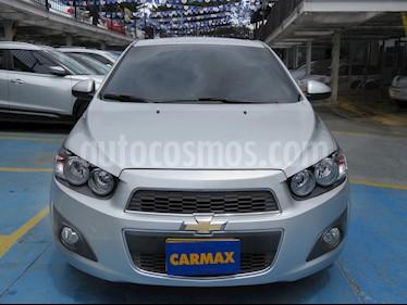 Chevrolet Sonic 1.6 LT Aut  usado (2017) color Plata precio $40.900.000