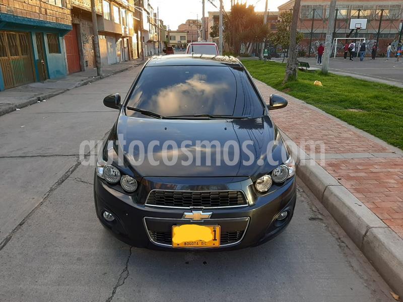 Chevrolet Sonic 1.6 LT Aut  usado (2017) color Azul Metalico precio $33.600.000