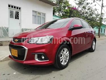 Chevrolet Sonic 1.6 LT  usado (2018) color Rojo precio $24.000.000