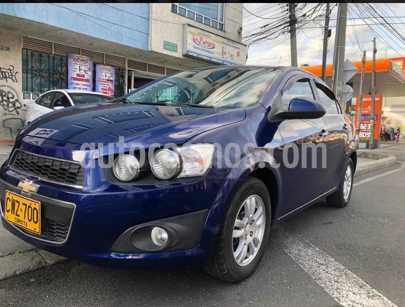 Chevrolet Sonic 1.6 LT usado (2013) color Azul Metalico precio $26.900.000
