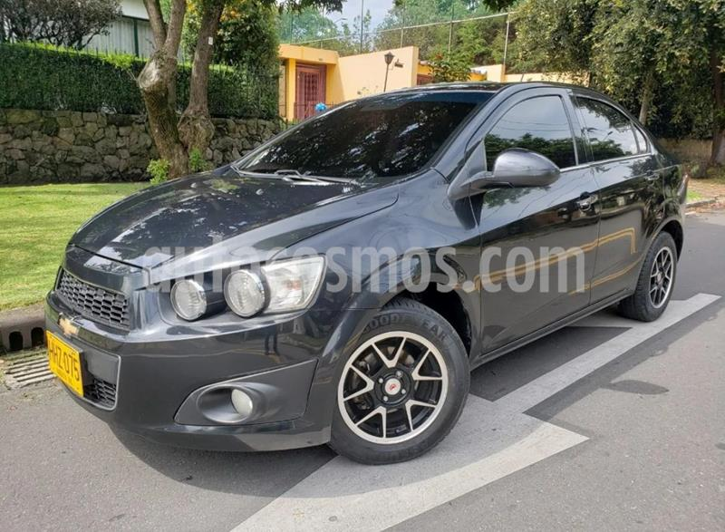 Chevrolet Sonic 1.6 LT usado (2014) color Gris Urbano precio $29.900.000