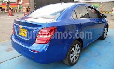 Chevrolet Sonic 1.6 LT Aut usado (2018) color Azul precio $36.500.000