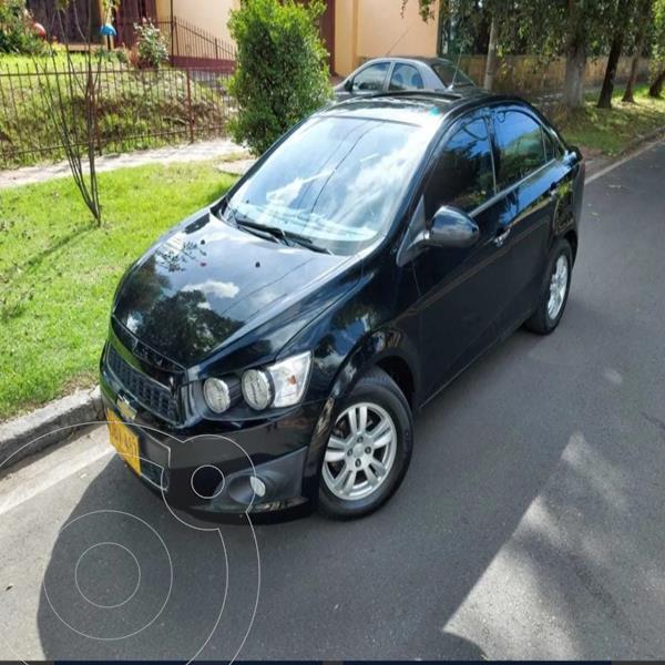 Foto Chevrolet Sonic 1.6 LT usado (2015) color Negro precio $32.700.000