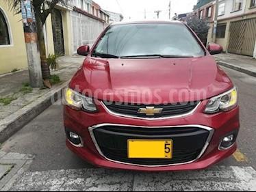 Chevrolet Sonic 1.6 LT  usado (2017) color Rojo precio $27.000.000