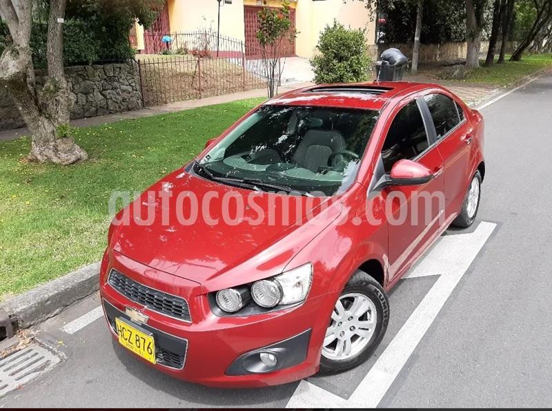 Chevrolet Sonic 1.6 LT usado (2014) color Rojo precio $29.900.000