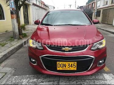 Chevrolet Sonic 1.6 LT  usado (2017) color Rojo precio $27.500.000