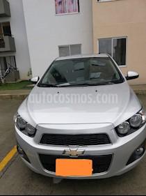 foto Chevrolet Sonic 1.6 LT Aut usado (2013) color Gris precio $29.000
