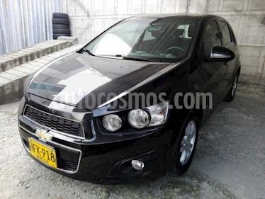 Chevrolet Sonic 1.6 LT usado (2015) color Negro precio $16.000.000