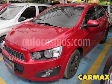 Chevrolet Sonic 1.6 LT  usado (2016) color Rojo precio $33.900.000