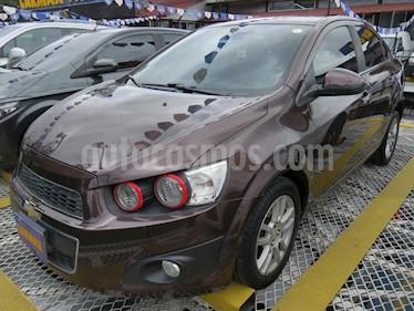 Foto Chevrolet Sonic 1.6 LT Aut usado (2015) color Marron precio $34.900.000