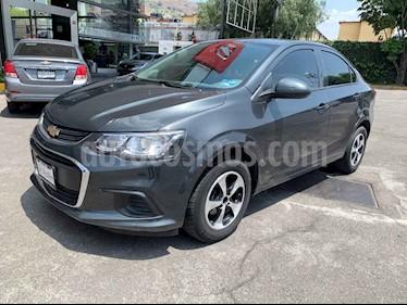 Foto venta Auto usado Chevrolet Sonic LS (2017) color Gris precio $173,000
