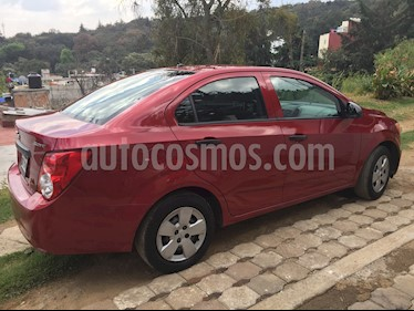 Chevrolet Sonic LS usado (2013) color Rojo Tinto precio $100,000