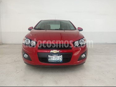 Foto venta Auto usado Chevrolet Sonic LS (2016) color Rojo Tinto precio $145,900