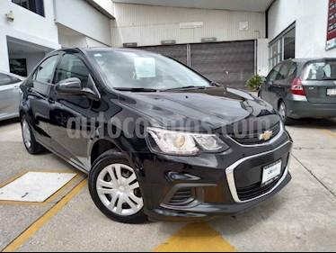 Foto venta Auto usado Chevrolet Sonic LS (2017) color Negro precio $175,000
