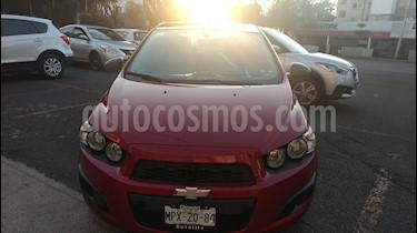 Foto venta Auto usado Chevrolet Sonic LS (2014) color Rojo Vino precio $114,000
