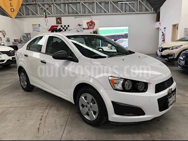 Foto venta Auto usado Chevrolet Sonic LS (2015) color Blanco precio $1,290,000