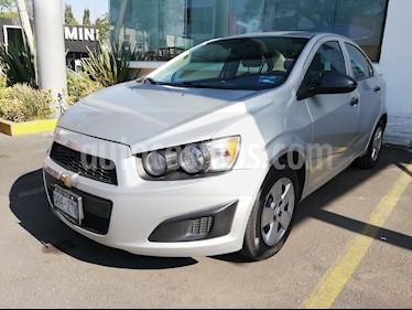 Foto venta Auto usado Chevrolet Sonic LS (2014) color Plata Brillante precio $115,000